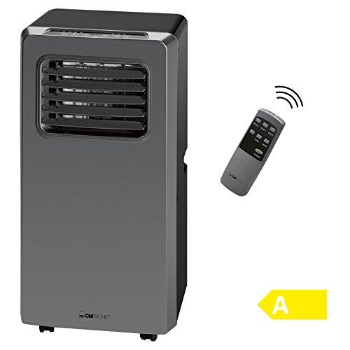 Clatronic CL 3672 Mobiles Klimagerät, EEK A, Kühlleistung 8000 BTU, LED-Display, Fernbedienung