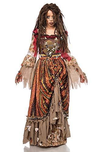Mask Paradise Halloween Kostüm Calypso, Größe: - Calypso Kostüm