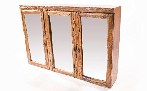 Spiegelschrank Holz Antik