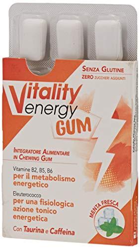 Drenax Vitality Energy Gum 9 Chewing Gum - 30 g