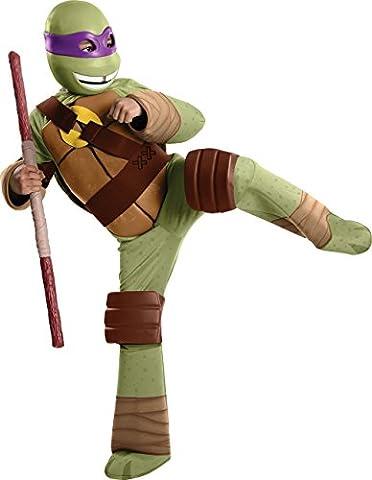 Teenage Mutant Ninja Turtles Enfants Costume - Déguisement de Donatello Tortue Ninja pour enfant