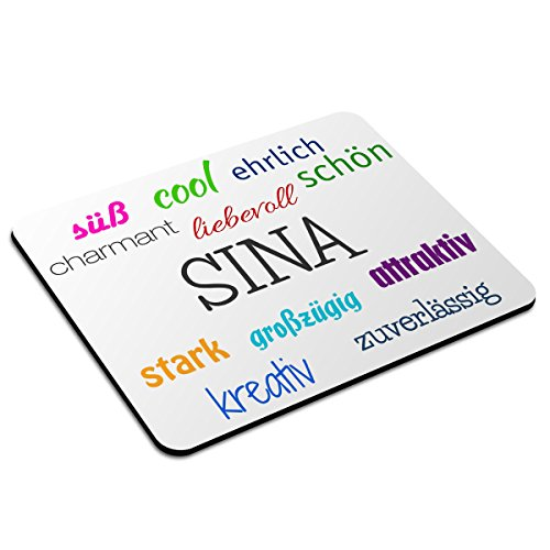 mousepad-mit-namen-sina-personalisiert-motiv-positive-eigenschaften-namensmousepad-personalisiertes-