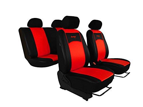 Autositzbezüge, Sitzbezüge Set passend für HONDA CIVIC Super Qualität, DESIGN ECO-LEDER. In diesem Angebot HELLROT (In 7 Farben bei anderen Angeboten erhältlich) . Komplett besteht aus: Sitzbezügen + 5 Kopfstützen + Montagehäckchen.