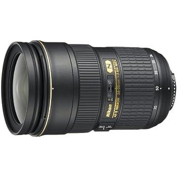 Nikon 24-70 mm f/2.8 G ED - Objetivo para Nikon (distancia focal 24-70mm, apertura f/2.8) color negro