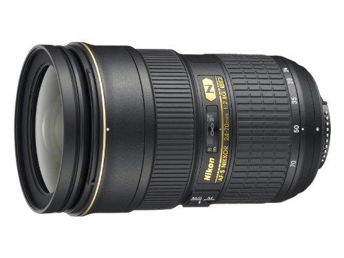 Nikon Obiettivo Nikkor AF-S 24-70 mm f/2.8G ED, Nero [Versione EU]