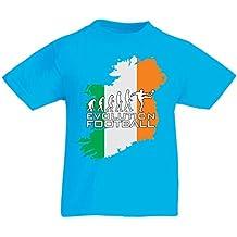 Kinder T-Shirt Evolution Football - Ireland