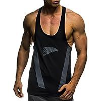 LEIF NELSON Gym Herren Fitness T-Shirt Trainingsshirt Training LN06286