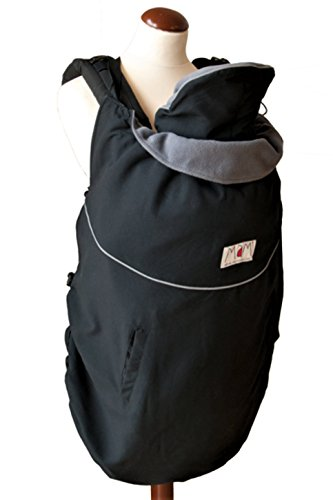manduca by mam transporte Cover Deluxe Black/Storm Cloud