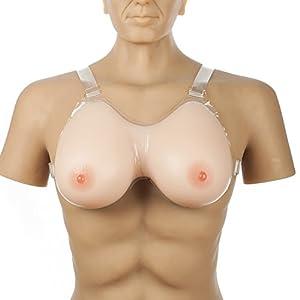 ivita 2400g/Paar 5.3lbs Silikon Brust Form Drag Queen Brust Enhancer
