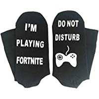 P.I.Sport N.Y. 3 Pares Estoy Jugando Fortnite Fortress Night Calcetines de dispensación ...