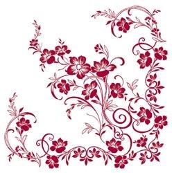 cm Sizo Flor® Vlies Original Tischband Tischläufer bordeaux weinrot für Hochzeit (Tischläufer Für Hochzeiten)
