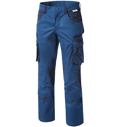 Pionier Workwear - Pantalones de trabajo para hombre, para herramientas, color verde, número de referencia 15347, Multicolor, 5345-50