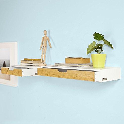 sobuy frg92 wn schweberegal wandschrank h ngeschrank. Black Bedroom Furniture Sets. Home Design Ideas