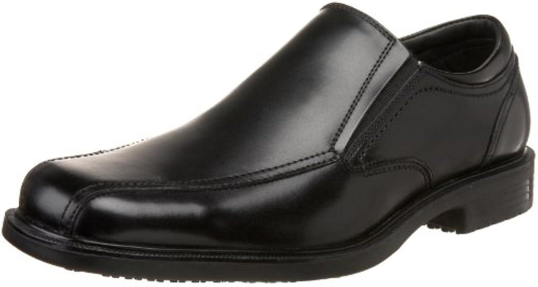 Dockers Brigade Hombre Negro Piel Zapatos Talla Nuevo EU 40