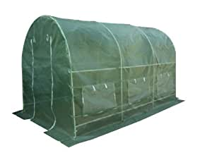foliengew chshaus tomatenzelt gew chshaus treibhaus 9m grundfl che 2m x 4 5m h he 2m uv. Black Bedroom Furniture Sets. Home Design Ideas