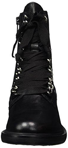 Mjus Damen 544229-0802-6002 Combat Boots Schwarz (Nero)