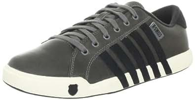K-Swiss NEWPORT II 02944-086-M, Herren Trainers, Grau (Carbon/Black/Antique White), EU 40 (UK 6.5)