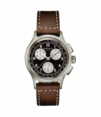 Orologio Hamilton Khaki Aviation Crono Quartz Nero 40 mm H76412533