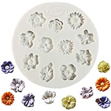 Molde de silicona para fondant, diseño de pasta de azúcar, para decoración de tartas