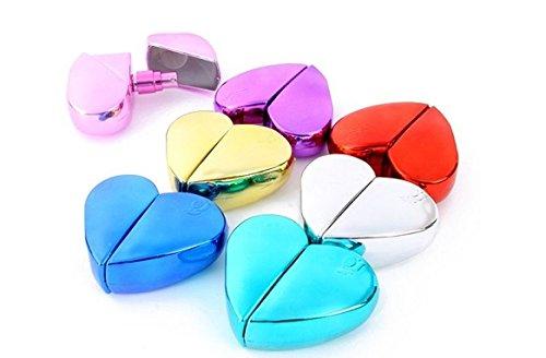 Flacon Vaporisateur Coeur 25 ml - Couleur Selon arrivage - Vide Spray Parfum