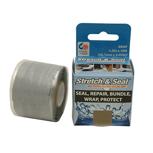 Nashua (Stretch und Dichtung vulkanisierend Silikon Tape, grau, STRETCH /GRY15333