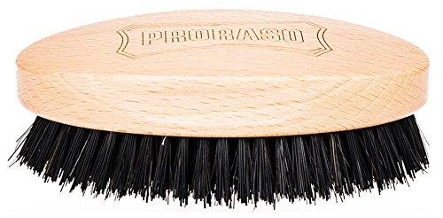 Proraso Military Brush Handbürste 10,7 x 6,3 cm Ovale Haarbürste speziell für Männer