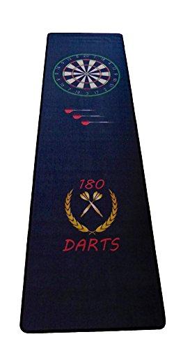 *Dartteppich Darts Teppich Dartmatte Dart Turniermatte 66 x 237 cm mit Aufdruck*