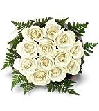 12 ROSAS FRESCAS NATURALES. AÑADE TU DEDICATORIA PERSONALIZADA.