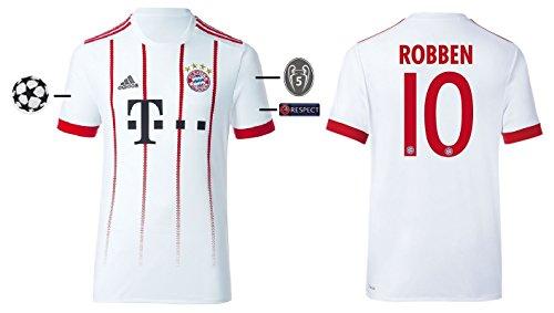 Trikot Herren FC Bayern 2017-2018 Third UCL - Robben 10 (L) (Away Holland Trikot)
