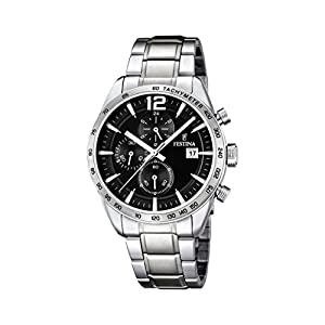 Festina F16759/4 – Reloj de cuarzo para hombre, con correa de acero