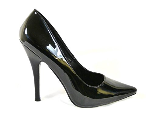 WOMENS MENS HIGH STILETTO HEEL FETISH GOING OUT COURT SHOES LARGE SIZES...