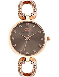 Inara By Gio Collection Analog Grey Dial Women Watch- G2055-55