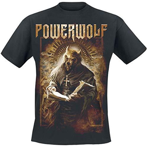 Powerwolf Stossgebet T-Shirt schwarz XXL