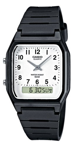 Casio Collection Herren-Armbanduhr Analog / Digital Quarz AW-48H-7BVEF