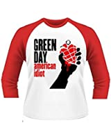 Official T Shirt GREEN DAY Album American Idiot Baseball All Sizes