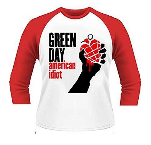 Oficial Camiseta álbum de Green Day American idiota de béisbol todos los tamaños