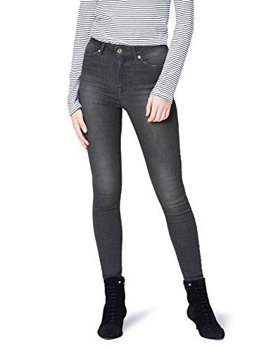 FIND Damen High-Rise Skinny-Jeans, Grau, W38/L32 (Herstellergröße: 3XL) (High Hose Rise)