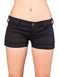 Black Pistol Lapel Panty Denim DE Black
