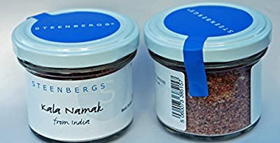 Kala Namak Indian Black Salt 100g by Steenbergs