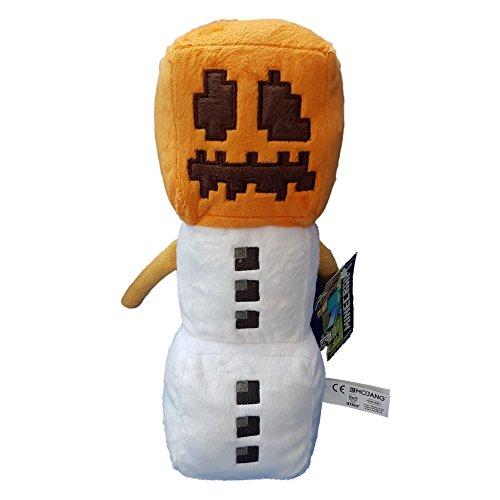 Großer Minecraft weicher Spielzeug Plüsch Schnee Schneemann 30cm (Blaue Baby-creeper)