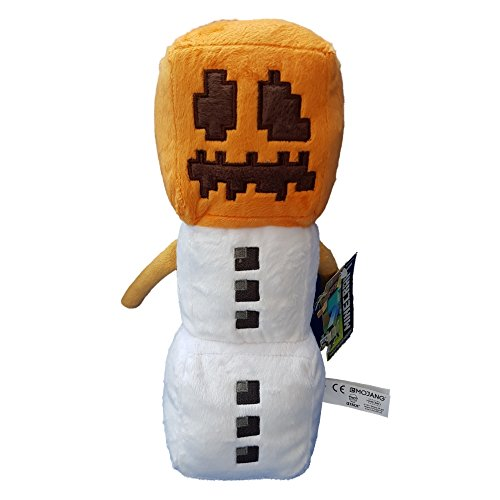 "Snow Golum Plush - Minecraft - 30cm 12"""