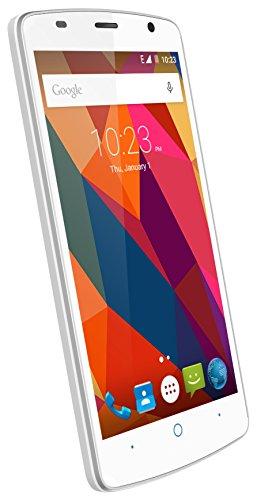 """ZTE Blade L5 Plus - Smartphone libre de 5"""" color blanco"""