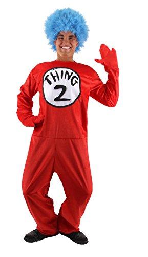 Elope Dr. Seuss Thing 1 & 2 Kostüm für (Seuss Kostüm Dr 1 Thing)