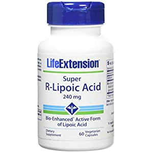 416wXRgwVpL. SS300  - Life Extension Super R-Lipoic Acid (60 Vegetarian Capsules) 240mg