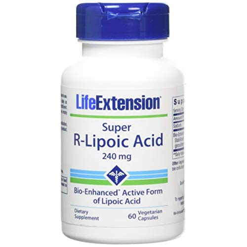 416wXRgwVpL. SS500  - Life Extension Super R-Lipoic Acid (60 Vegetarian Capsules) 240mg