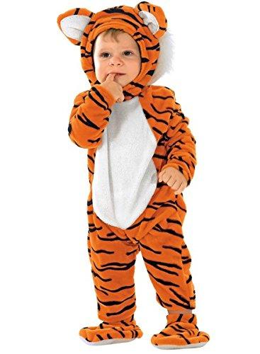 Kleinkinderkostüm Tiger, Tigerkostüm, Größe:74 (Baby-tiger Halloween-kostüm)