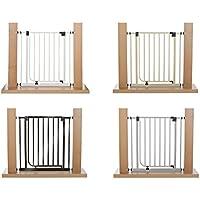 IMPAG ® Treppenschutzgitter EASY STEP passend für 62cm - 212cm   Höhe 77cm   ohne Bohren   Türschutzgitter6 Farben   einfache Montage   Tür-Gitter   Treppen-Gitter Baby Kleinkind Hund