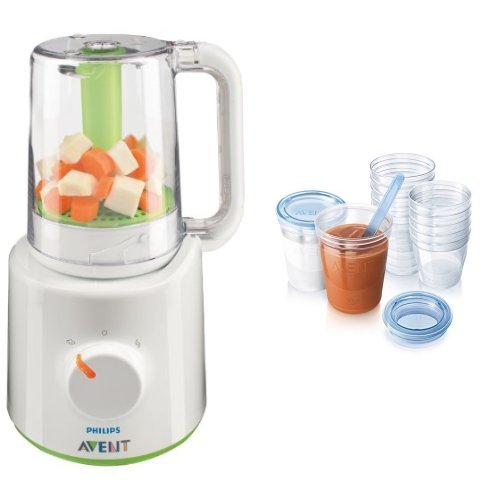 Philips Avent Combined Baby Food Steamer & Blender, White