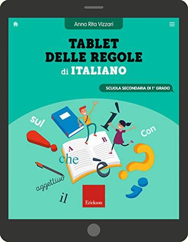 Tablet delle regole di italiano. Scuola