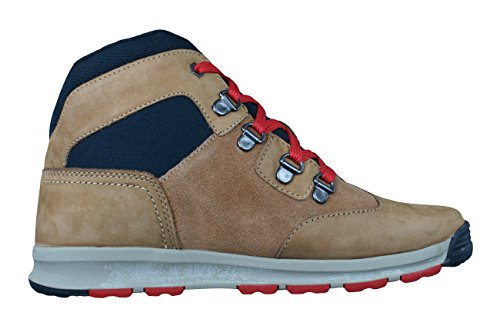 Timberland Scramble EK Boys Leather Boots-Brown-4